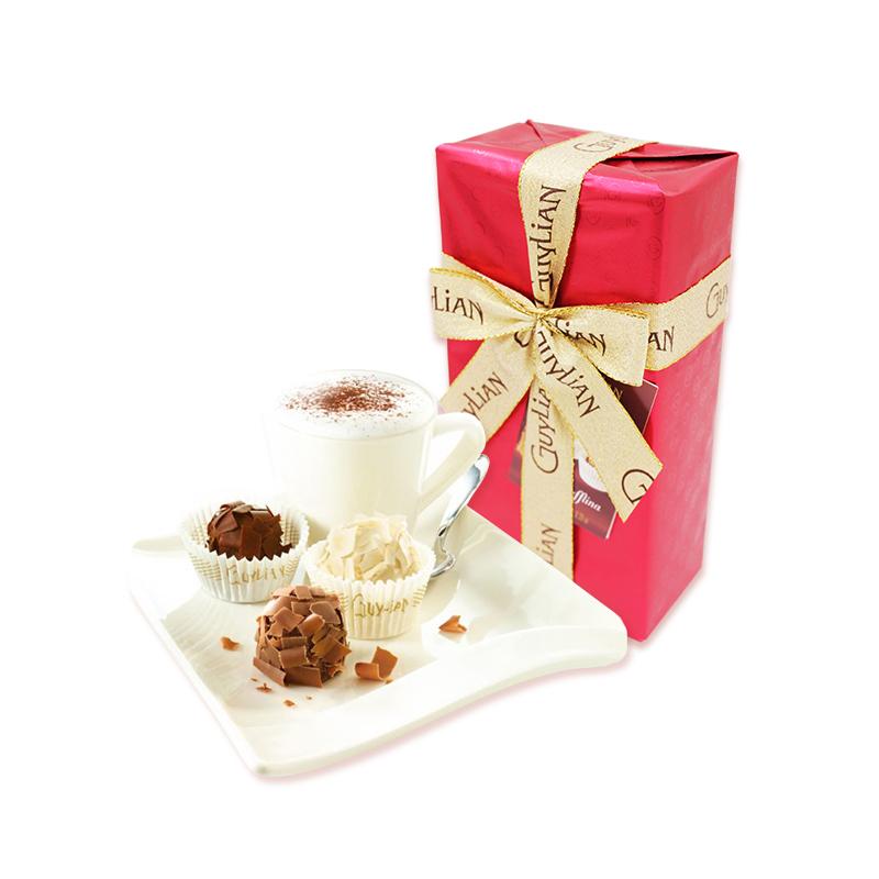 GuyLian吉利莲精装雪球巧克力礼盒180g